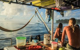 Living the dream in the Mentawais by Nick Obrien