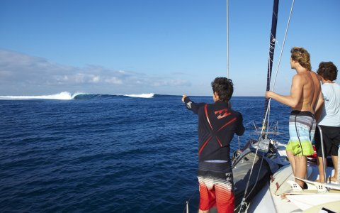 Look at that one!!! - Scardy at Cloudbreak (pic: Shields)